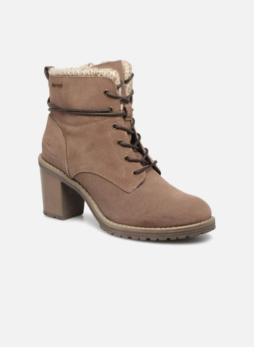 Boots en enkellaarsjes Tom Tailor Marta Beige detail