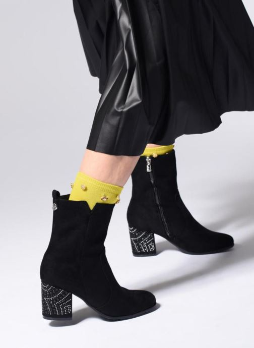 Ankle boots Tom Tailor Emma Black view from underneath / model view