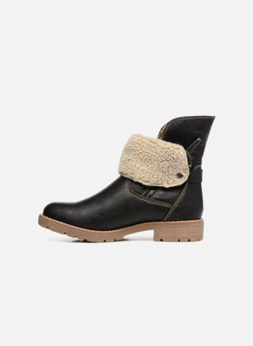 Stiefeletten & Boots Tom Tailor Julieta schwarz ansicht von vorne