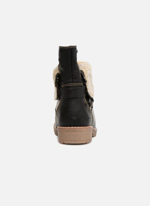 Stiefeletten & Boots Tom Tailor Julieta schwarz ansicht von rechts