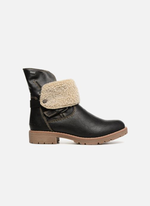 Ankle boots Tom Tailor Julieta Black back view