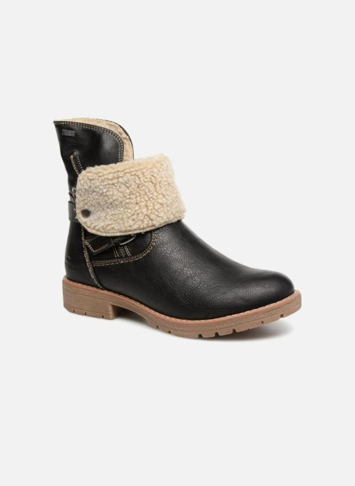 Ankle boots Tom Tailor Julieta Black detailed view/ Pair view