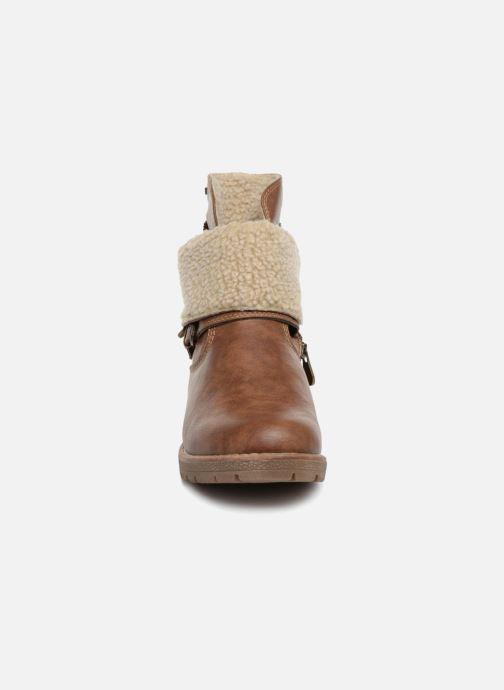 Boots en enkellaarsjes Tom Tailor Julieta Bruin model