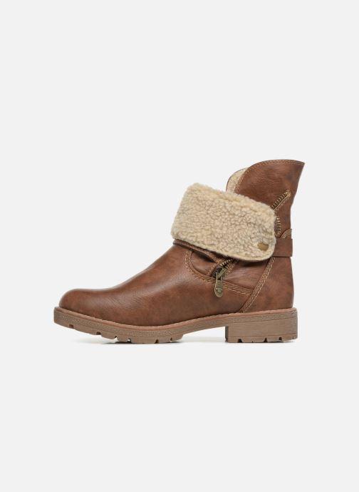 Boots en enkellaarsjes Tom Tailor Julieta Bruin voorkant