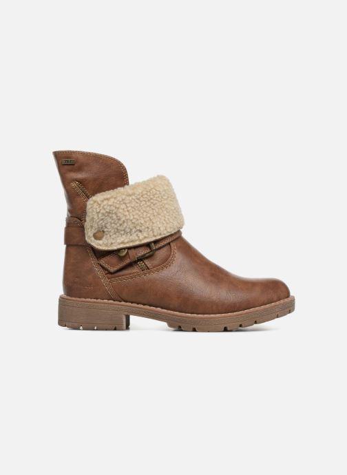 Boots en enkellaarsjes Tom Tailor Julieta Bruin achterkant