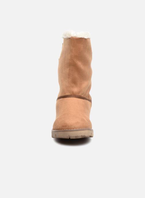 Bottines et boots Tom Tailor Sofia Marron vue portées chaussures