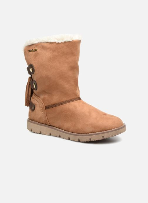 Bottines et boots Tom Tailor Sofia Marron vue détail/paire