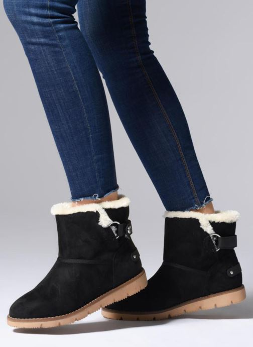 Bottines et boots Tom Tailor Antonella Noir vue bas / vue portée sac