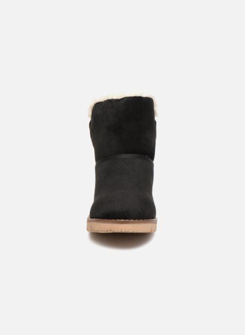 Bottines et boots Tom Tailor Antonella Noir vue portées chaussures