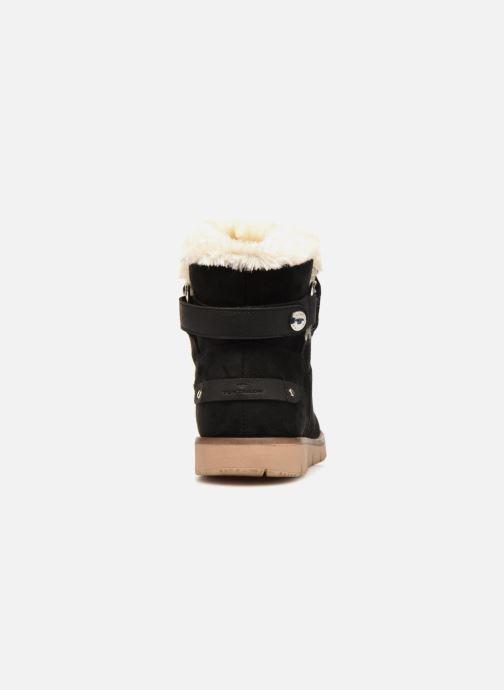Bottines et boots Tom Tailor Antonella Noir vue droite