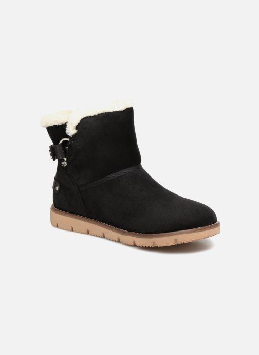Bottines et boots Tom Tailor Antonella Noir vue détail/paire