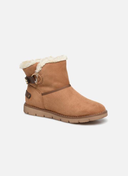 Bottines et boots Tom Tailor Antonella Marron vue détail/paire