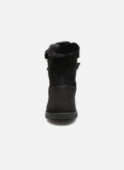 Bottines et boots Tom Tailor Carla Noir vue portées chaussures