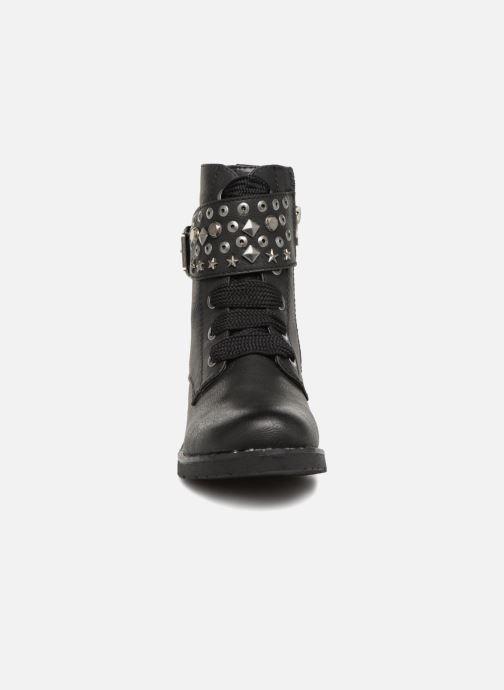 Bottines et boots Tom Tailor Ariana Noir vue portées chaussures