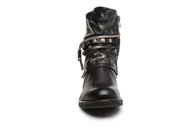 Bottines et boots Tom Tailor Alejandra Noir vue portées chaussures
