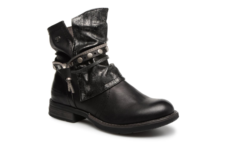 Bottines et boots Tom Tailor Alejandra Noir vue détail/paire