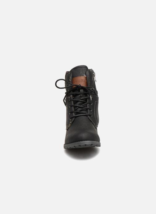 Bottines et boots Tom Tailor Carmen Noir vue portées chaussures