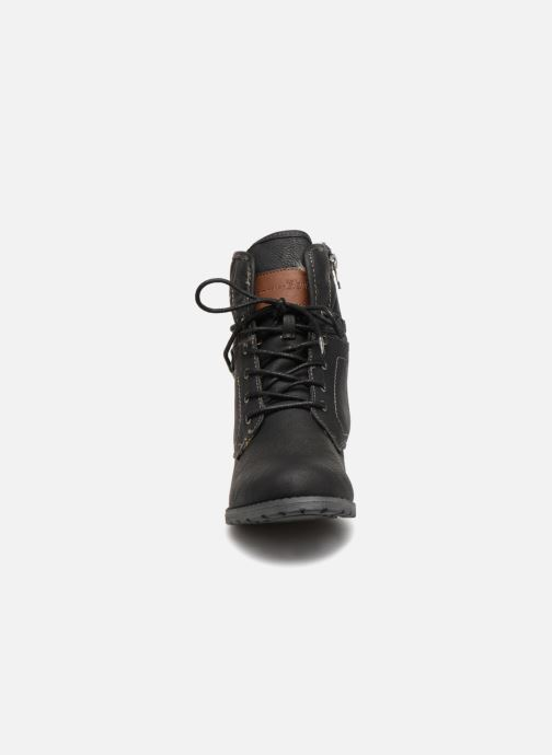 Stiefeletten & Boots Tom Tailor Carmen schwarz schuhe getragen