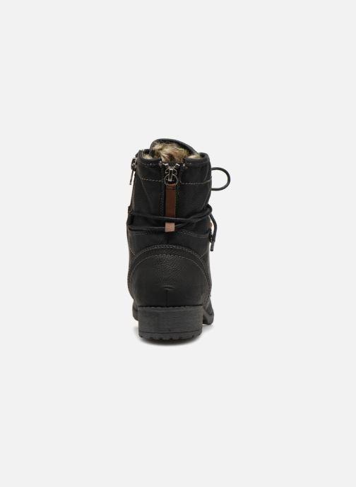 Bottines et boots Tom Tailor Carmen Noir vue droite