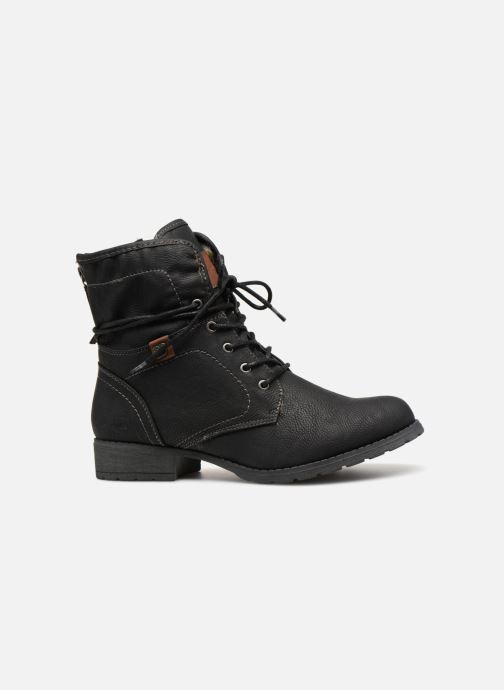 Stiefeletten & Boots Tom Tailor Carmen schwarz ansicht von hinten