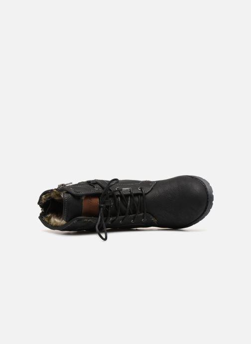 Bottines et boots Tom Tailor Carmen Noir vue gauche