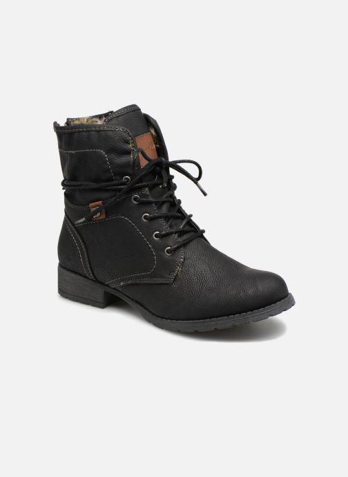 Bottines et boots Tom Tailor Carmen Noir vue détail/paire