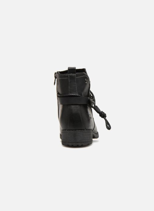 Ankle boots Tom Tailor Natalia Black view from the right