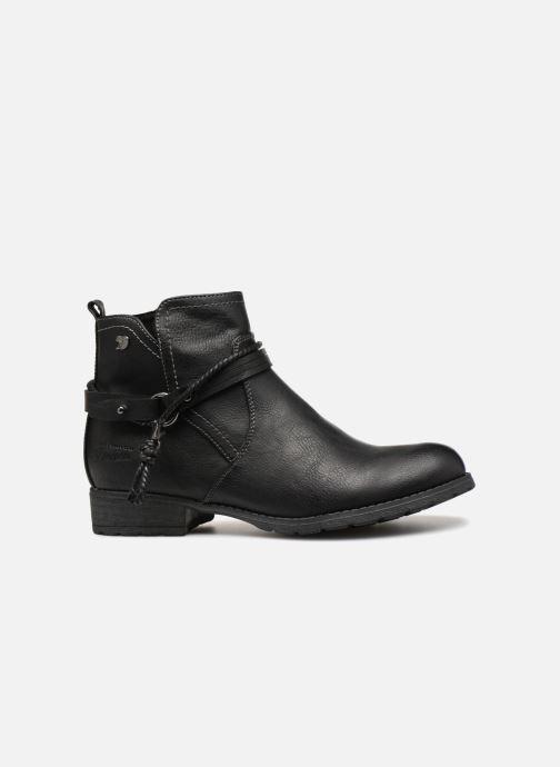 Ankle boots Tom Tailor Natalia Black back view
