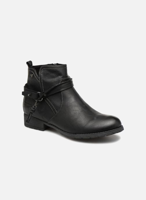 Ankle boots Tom Tailor Natalia Black detailed view/ Pair view
