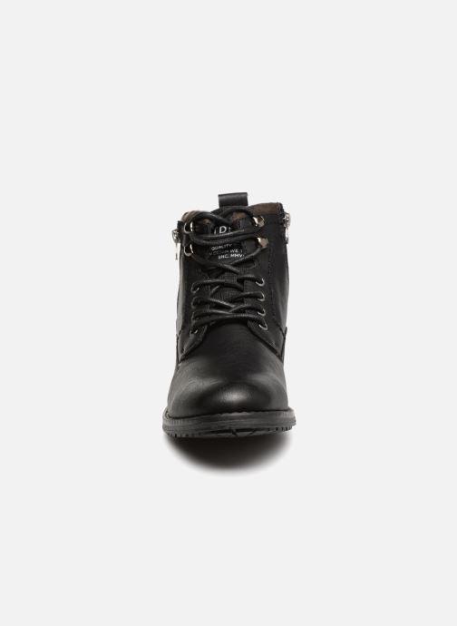 Bottines et boots Tom Tailor Alonso Noir vue portées chaussures