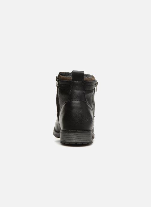 Bottines et boots Tom Tailor Alonso Noir vue droite