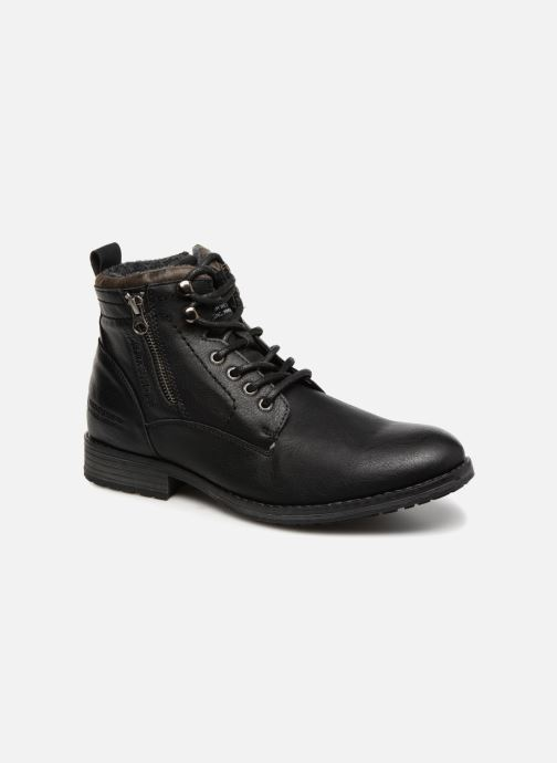Ankle boots Tom Tailor Alonso Black detailed view/ Pair view