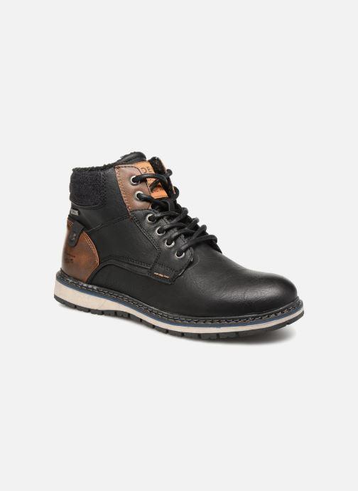 Ankelstøvler Tom Tailor Javier Sort detaljeret billede af skoene