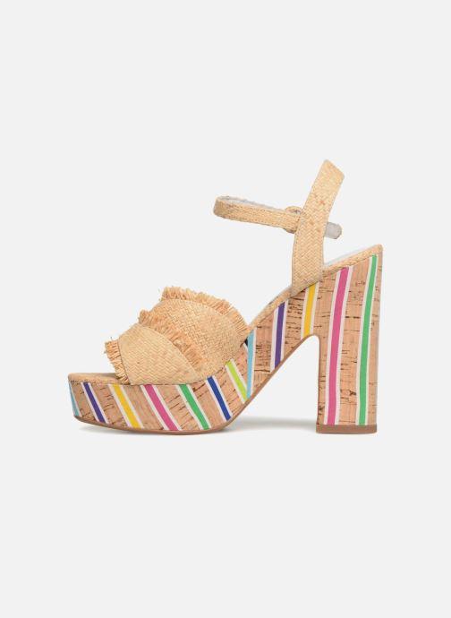 Sandales et nu-pieds Mellow Yellow Bahila Beige vue face
