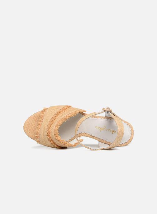 Sandales et nu-pieds Mellow Yellow Bahila Beige vue gauche
