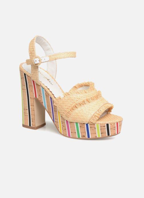 Sandales et nu-pieds Mellow Yellow Bahila Beige vue détail/paire
