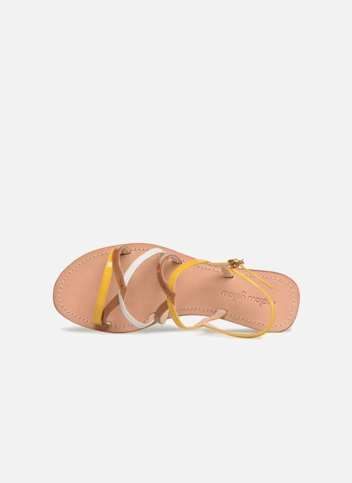 Sandalen Mellow Yellow Balentine Geel links