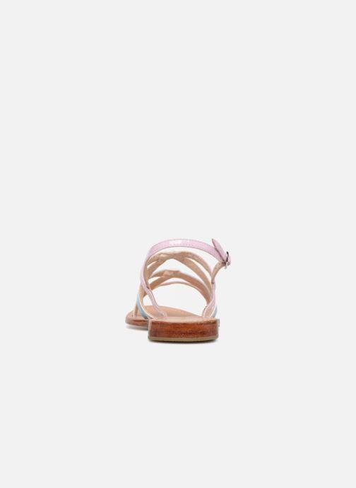 Sandales et nu-pieds Mellow Yellow Balentine Rose vue droite
