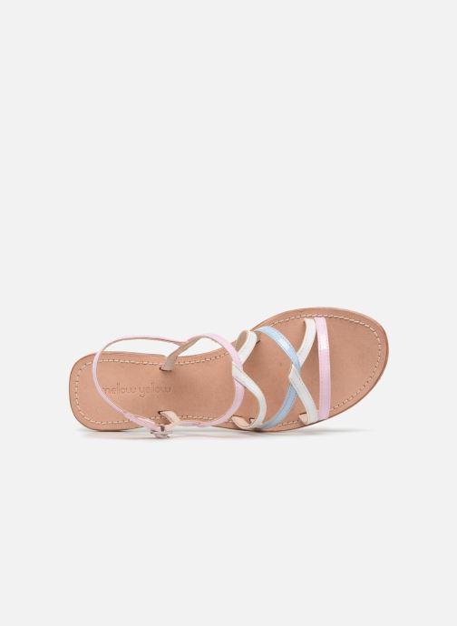 Sandales et nu-pieds Mellow Yellow Balentine Rose vue gauche