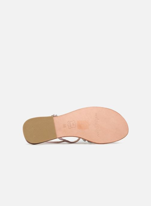Sandales et nu-pieds Mellow Yellow Balentine Rose vue haut