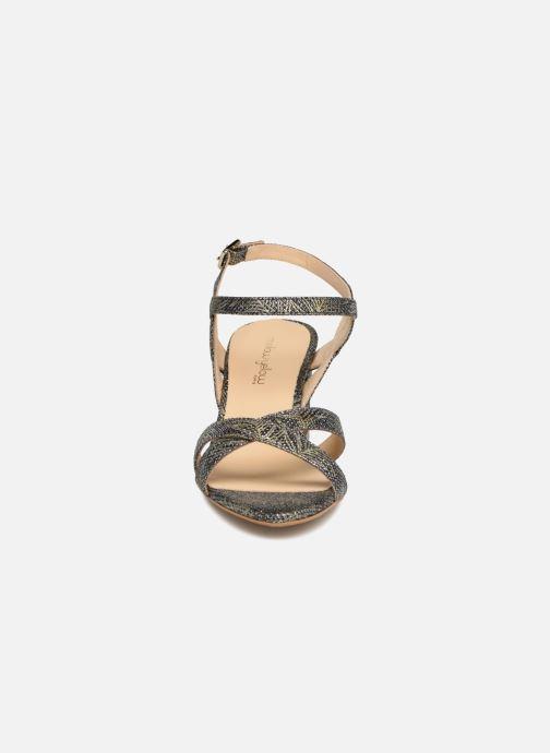 Sandales et nu-pieds Mellow Yellow Belle 2 Noir vue portées chaussures