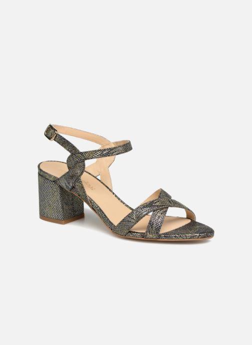 Sandales et nu-pieds Mellow Yellow Belle 2 Noir vue détail/paire