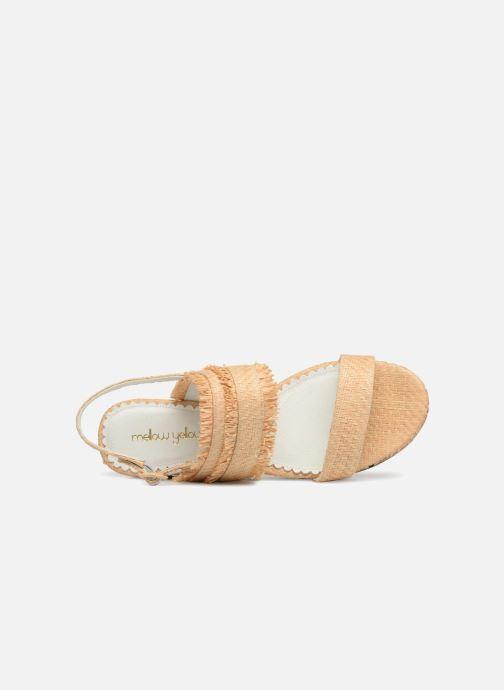 Sandales et nu-pieds Mellow Yellow Bahine Beige vue gauche