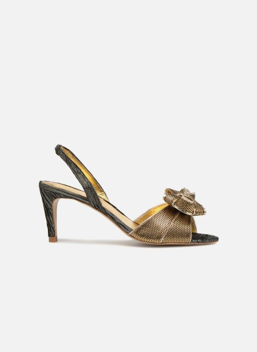 Sandales et nu-pieds Mellow Yellow Belinda Noir vue derrière