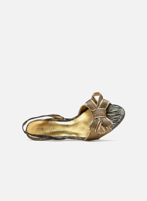 Sandales et nu-pieds Mellow Yellow Belinda Noir vue gauche