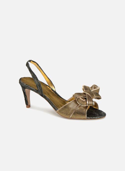 Sandales et nu-pieds Mellow Yellow Belinda Noir vue détail/paire