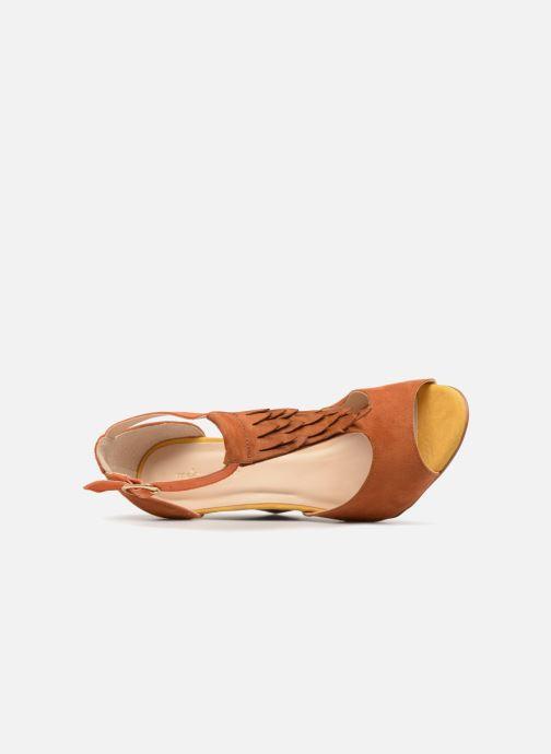 Sandales et nu-pieds Mellow Yellow Brady Marron vue gauche