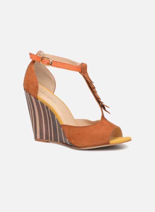 Sandales et nu-pieds Mellow Yellow Brady Marron vue détail/paire