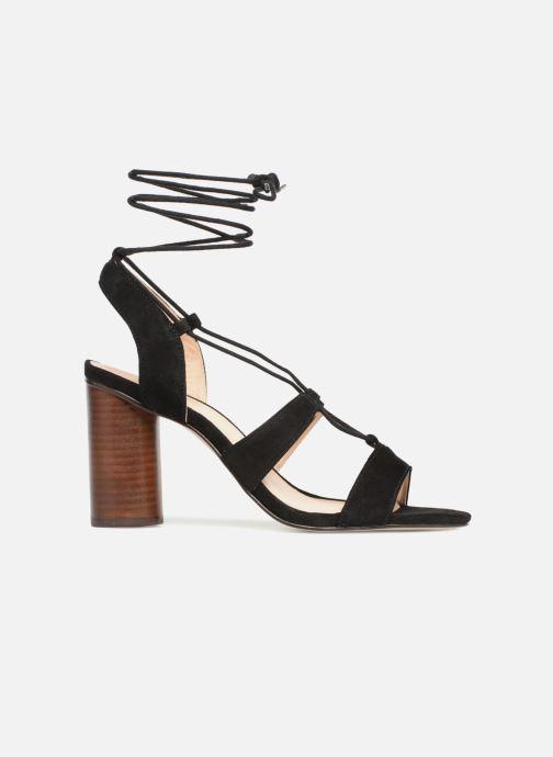 Sandales et nu-pieds Mellow Yellow Brune Noir vue derrière