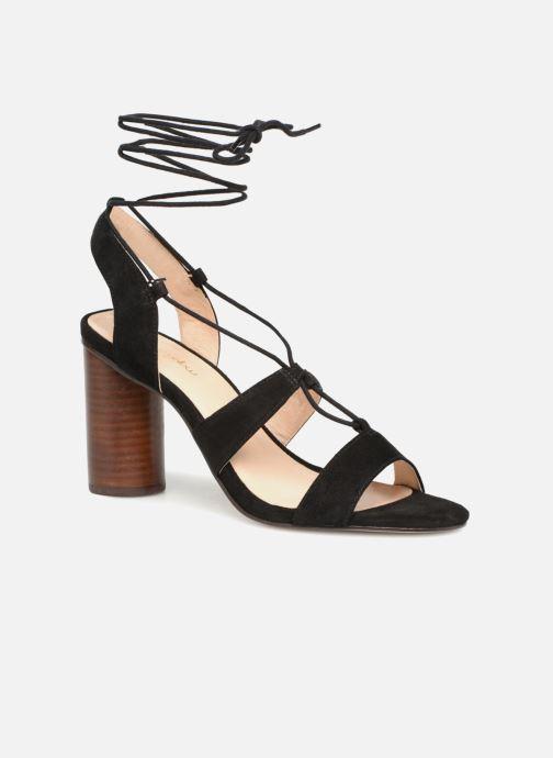 Sandales et nu-pieds Mellow Yellow Brune Noir vue détail/paire